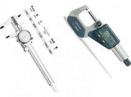 Paquimetro e Micrometro