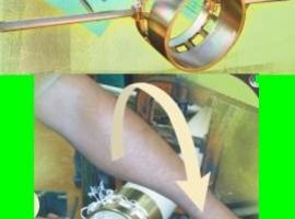 Tarraxa para Tubo de PVC de 3 e 4 Polegadas